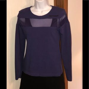 🎀 Harley Davidson women's top M LS purple cotton